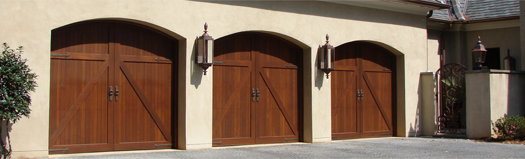 wooden garage door repair
