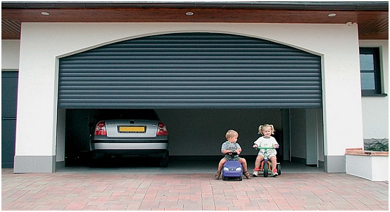 Teach children about garage door safety